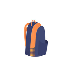 backpack icon isolated on white background sport vector image