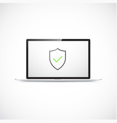 computer security concept vector image