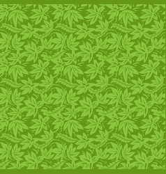 Green plant pattern vector