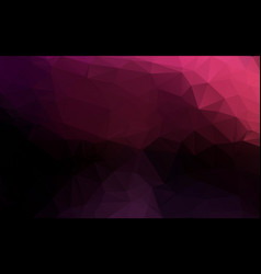 purple triangle polygonal geometric background vector image