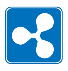 Ripple icon on white vector