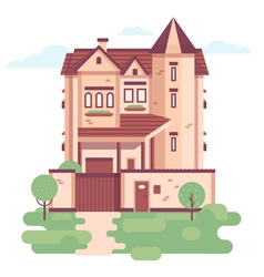 TownHouse Day vector
