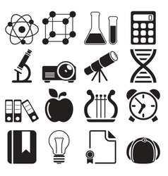 Education Icons Vol 2 vector image vector image