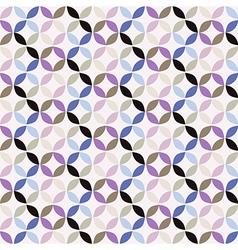 Geometric Circle Pattern Background vector image