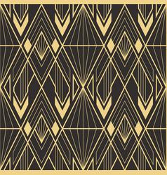 Abstract art deco geometric pattern 61 vector