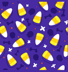 candy corn background vector image