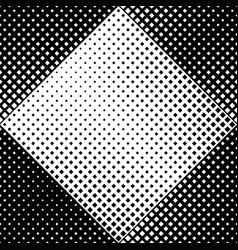 geometrical seamless black and white square vector image