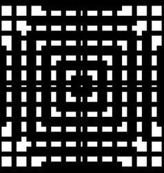 grid mesh seamless geometric pattern monochrome vector image