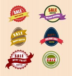 Happy easter sale vector