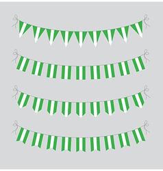 nigeria bunting vector image