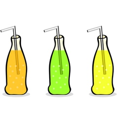 Soft drinks vector image