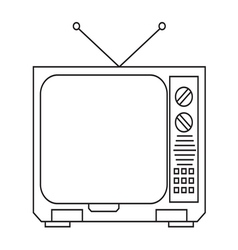 TV16 vector image