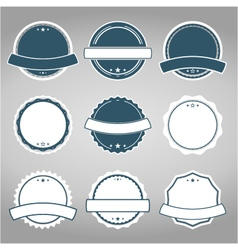 badges7 vector image