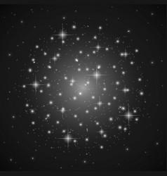 Cosmos-snow-stars vector