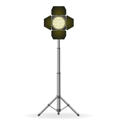 movie floodlight vector image