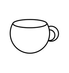 mug porcelain isolated vector image