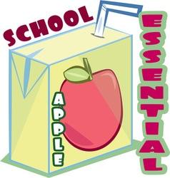 School Essential vector