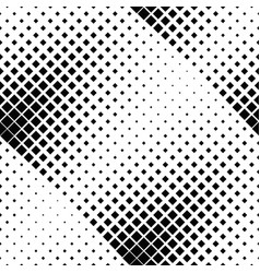 seamless black and white square pattern background vector image
