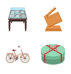 Sport museums and other web icon in cartoon style vector