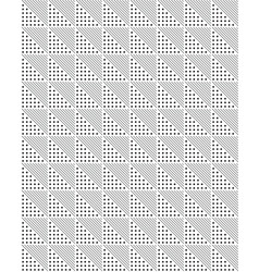 triangular or square seamless pattern vector image