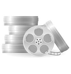 movie reel vector image