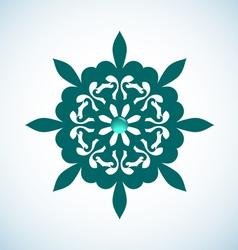 Snowflake Element vector image vector image