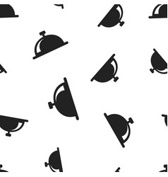 bell icon seamless pattern background business vector image