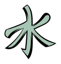 confucianism icon cartoon vector image