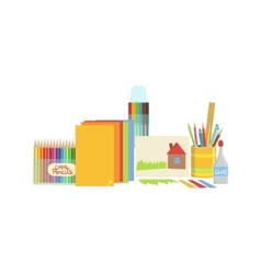 Craft Class Set Of Objects vector image