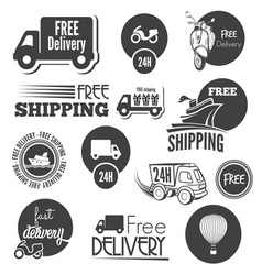 free shipping2 resize vector image