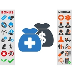 Health Care Funds Icon vector
