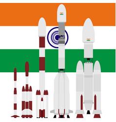 Indian spacecraft vector