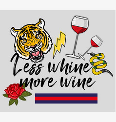 More wine vector