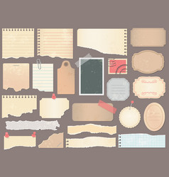 Scrapbook papers vintage scrapbooking paper vector
