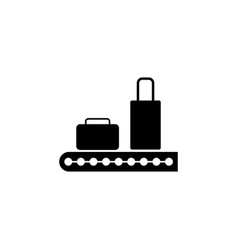 transport tape for suitcases icon element of vector image