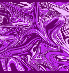 Violet pink liquid marble background vector