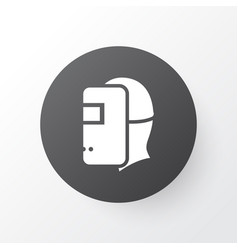welder icon symbol premium quality isolated vector image