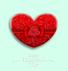 Celebration Background with Wishes for Valentines vector image