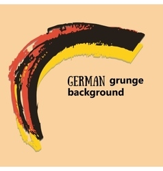 Creative background in the German colors German vector image