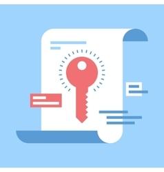 Keywording vector