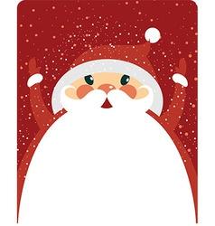 Santa Claus with copy space vector image