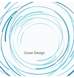 abstract circle design vector image vector image