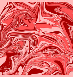 brick red liquid marble background vector image
