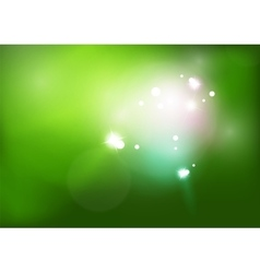 green shiny background vector image