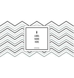 minimalistic modern label for bottle of liquid vector image