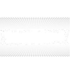 Monochrome minimal retro line background style vector
