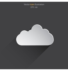 weather web flat icon vector image