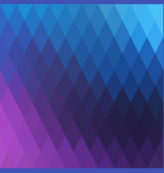 abstract background with effect rhombus vector image vector image