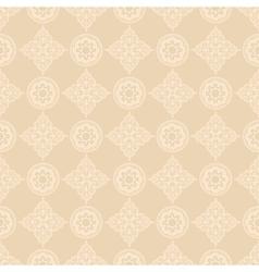 oriental floral pattern vector image vector image