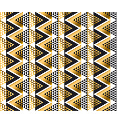 modern geometry american indian tribal seamless vector image